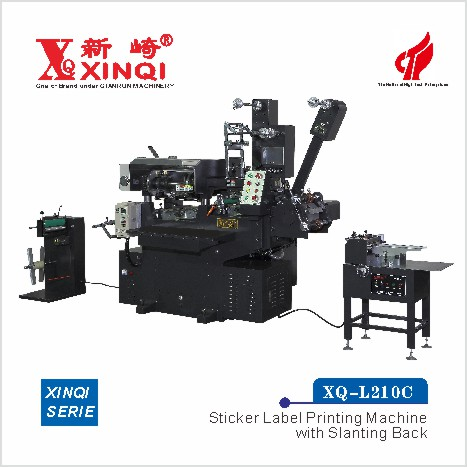 XQ-L210C - Sticker Labe