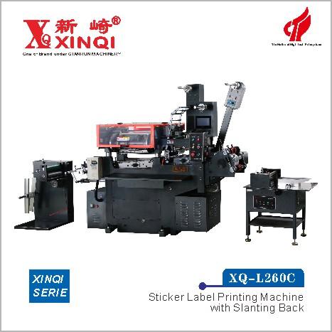 XQ-L260C - Sticker Labe